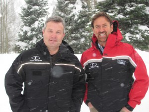 Squaw Valley CEO Andy Wirth and Eric Resnick