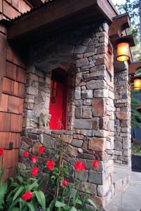 Nason Home- Red front door