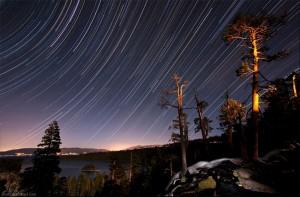 Stars over Emerald Bay