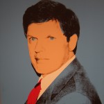 Warhol painted a piece of his friend and owner of the collection, Richard Weisman.