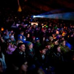 """Thousands turned out for the Squaw Valley premier of """"McConkey."""" Photo courtesy Red Bull Media House."""